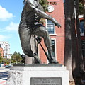 Willie Mays At San Francisco Giants Att Park . 7d7636 by Wingsdomain Art and Photography