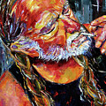 Willie Nelson Booger Red by Debra Hurd