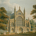 Winchester Cathedral by John Buckler