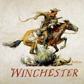 Winchester Horse And Rider  by Phillip R Goodwin