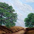 Windblown Clouds by Frank Wilson