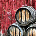 Wine Barrels by Doug Hockman Photography