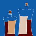 Wine Bottles by Frank Tschakert