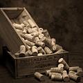 Wine Corks Still Life I by Tom Mc Nemar