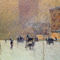 Winter Afternoon In New York by Childe Hassam