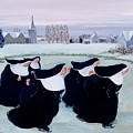 Winter At The Convent by Margaret Loxton