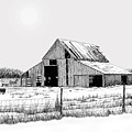 Winter Barn by Lyle Brown