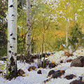 Winter Beauty Sangre De Mountain 2 by Gary Kim