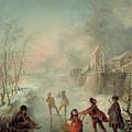 Winter by Jacques de Lajoue