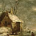 Winter Scene by Jan Beerstraten