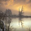 Winter Sunrise by Graham Clark