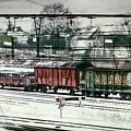 Winter Transport by Wim Lanclus
