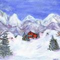 Winter Wonderland - Www.jennifer-d-art.com by Jennifer Skalecke