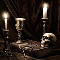 Wisdom Of The Ages Still Life by Tom Mc Nemar