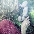 Woman And Teddy by Joana Kruse