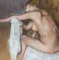 Woman Drying Her Arm by Edgar Degas