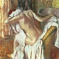 Woman Drying Herself by Edgar Degas