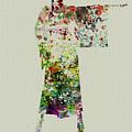 Woman In Kimono by Naxart Studio