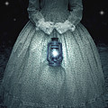 Woman With Lantern by Joana Kruse