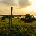 Wooden Cross 2 by Sheri McLeroy