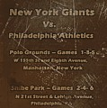 World Series 1913 by David Dehner