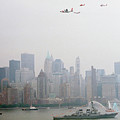 World Trade Center And Opsail 2000 July 4th Uscg Photo 17  by Sean Gautreaux