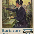World War I Ywca Poster by Clarence F Underwood