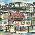 Wrigley Field by Matt Gaudian