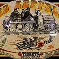Zeppelin Express Work B by David Lee Thompson