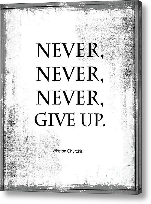 Kate McKenna - Never Give Up Print