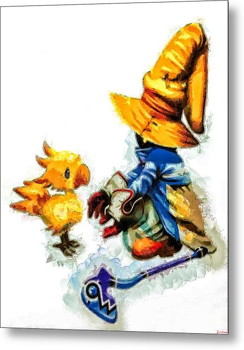 Joe Misrasi - Vivi and the Chocobo Print