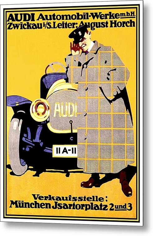 John Madison - 1912 - Audi Automobile Ad... Print
