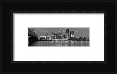 Jon Holiday - Louisville Skyline at Dus... Print