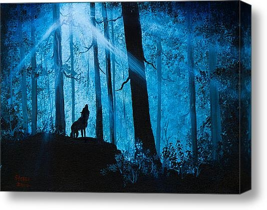 C Steele - Moonlight Serenade Print