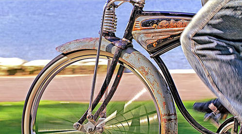 David  Naman - Old Schwinn Print