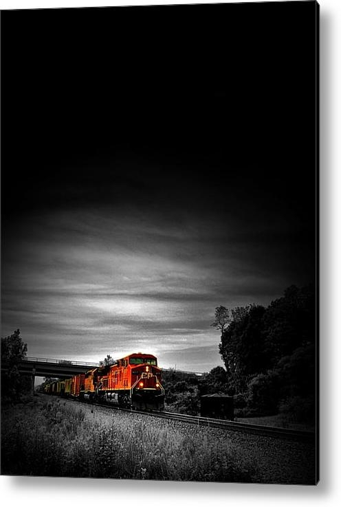Emily Stauring - Train Of Dusk Print
