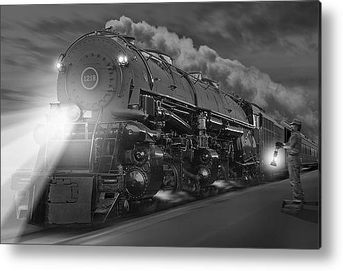 Mike McGlothlen - The 1218 On the Move 2 Print