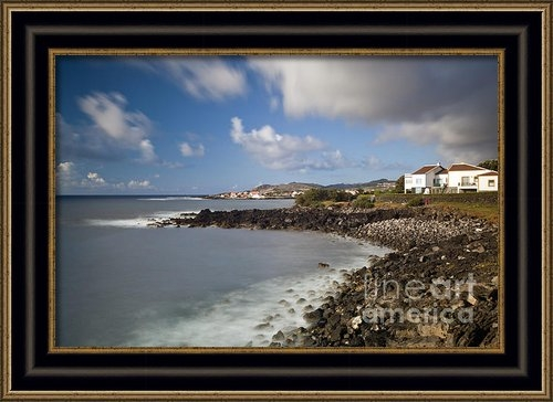 Andre Goncalves - Coastline in the Terceira... Print