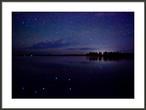 Adam Pender - Big Dipper Reflection Print