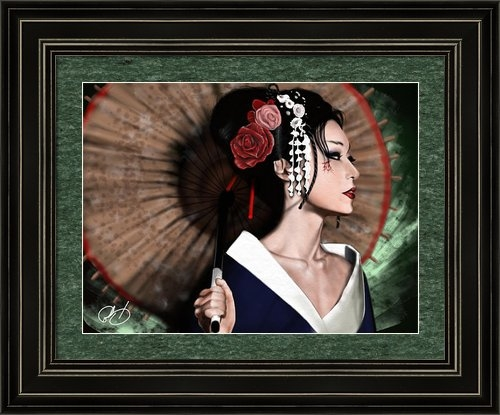 Pete Tapang - The Geisha Print