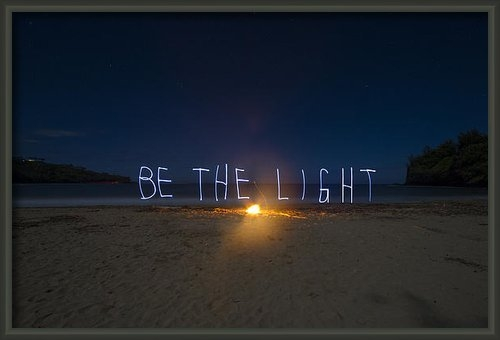 Sarah Haywood - Be the Light Print