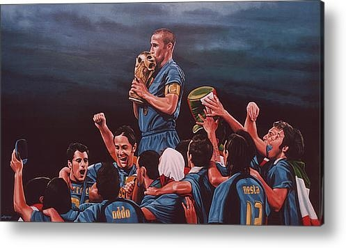 Paul  Meijering - Italia the Blues Print