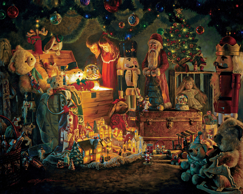 Greg Olsen - Reason for the Season Print