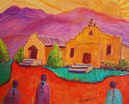 Carolene Of Taos - Dixon  New Mexico Print