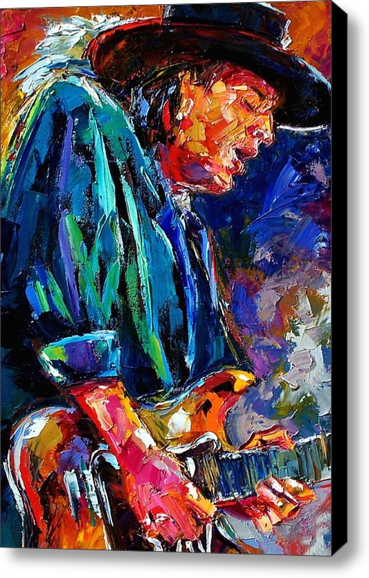 Debra Hurd - Stevie Ray Vaughan Print