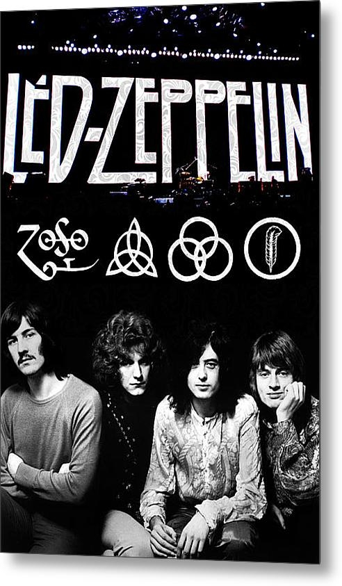 FHT Designs - Led Zeppelin Print