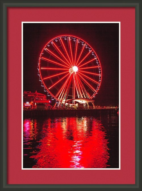 Mike Penney - Great Wheel 191 Print