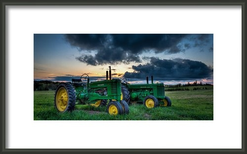 Matt Dobson - The John Deere Dream Print