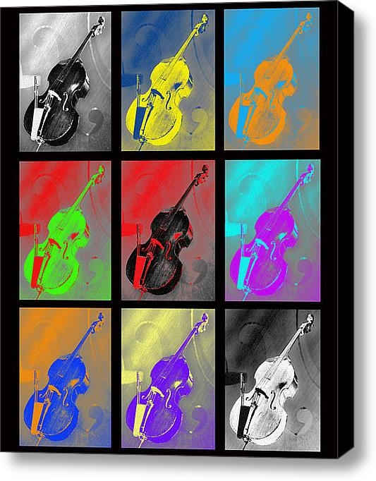 Lisa A Bello - Warhol Bass Print