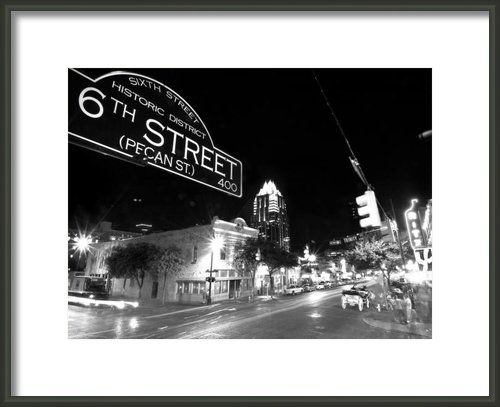 John Gusky - Bright Lights at Night Print